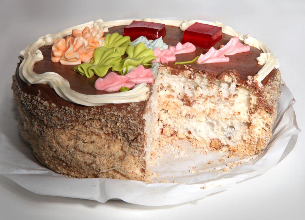Классический торт киевский рецепт пошагово