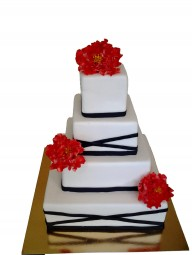 """Торт """"Свадебный пион"""""""