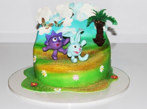 """Торт """"Смешарики"""""""