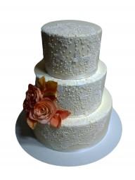 "Торт ""Свадебное кружево"""