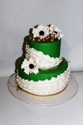 "Торт ""Свадьба в зеленом"""