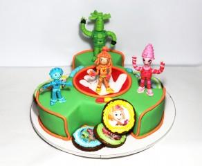 """Торт """"Семейка фиксиков"""""""