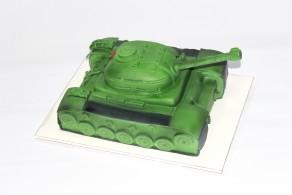 """Торт """"Зеленый Танк"""""""