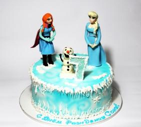 "Торт ""Холодное сердце"""