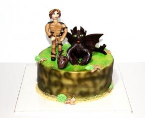 """Торт """"Как приручить дракона"""""""