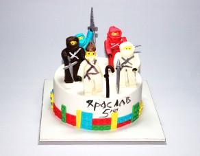 """Торт """"Нинзяго"""""""