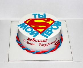 """Торт """"Супермен"""""""