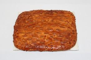 Пирог с фруктовым пюре