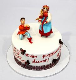 "Торт ""Народные танцы"""