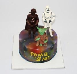 """Торт """"Звездные войны """""""