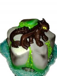 "Торт ""Беззубик"""
