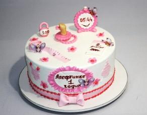 """Торт """"1 годик Алефтинке"""""""