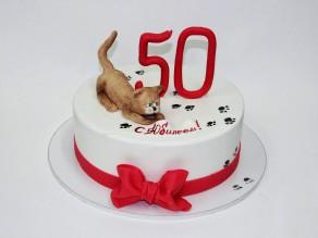 """Торт """"50 котов"""""""