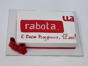 """Торт """"Rabota.ua"""""""