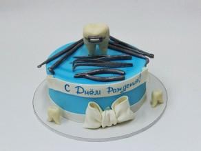 """Торт """"Стоматологу"""""""