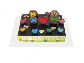 Торт «Undertale»