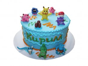 Торт «Покемоны»