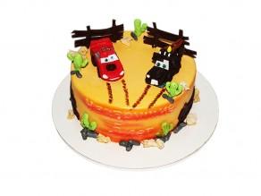 Торт «Тачки»