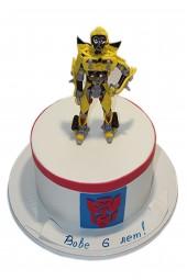 Торт «Трансформер Прайм»