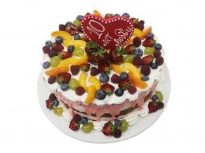 Торт «10 лет любви»