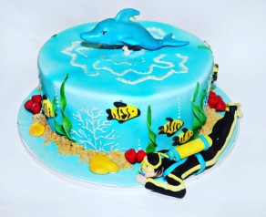 Торт для Аквалангиста