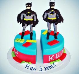 Торт для близнецов мальчиков