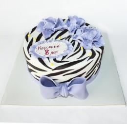 """Чижо Торт в День Рождения """"Фиолет"""""""