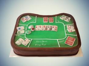 """Торт """"Покерный стол"""""""