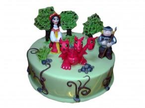 """Торт """"Змей горыныч"""""""