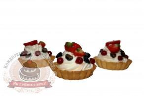 тарта со свежими  ягодами