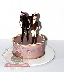 "Торт""Конный спорт"""