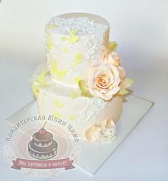 "Торт""Свадебное кружево3"""